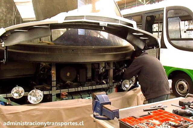 Inrecar S.A   Sistema eléctrico / Bus 8077 Flota Talagante