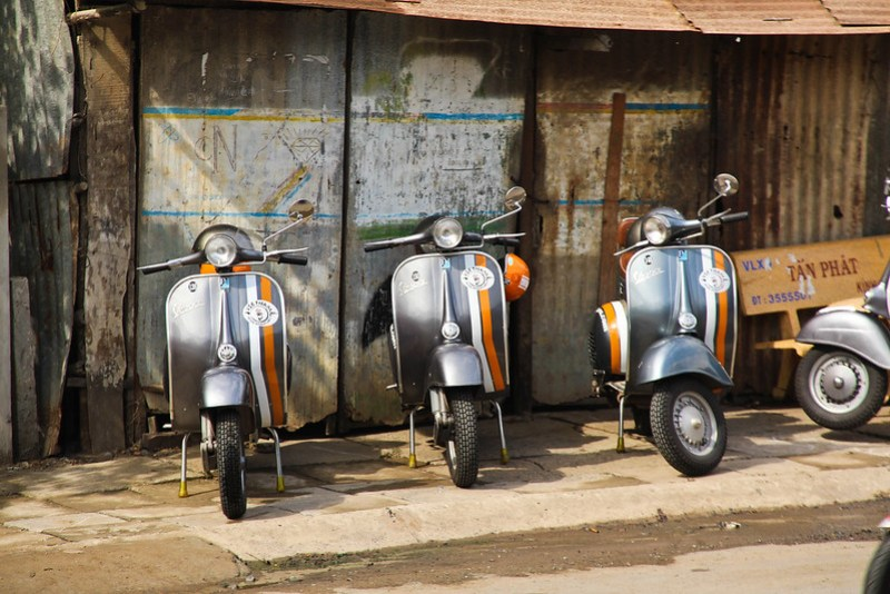 Want to see a different side of Vietnam? We zoomed around the Mekong Delta by Vespa and it was AWESOME!