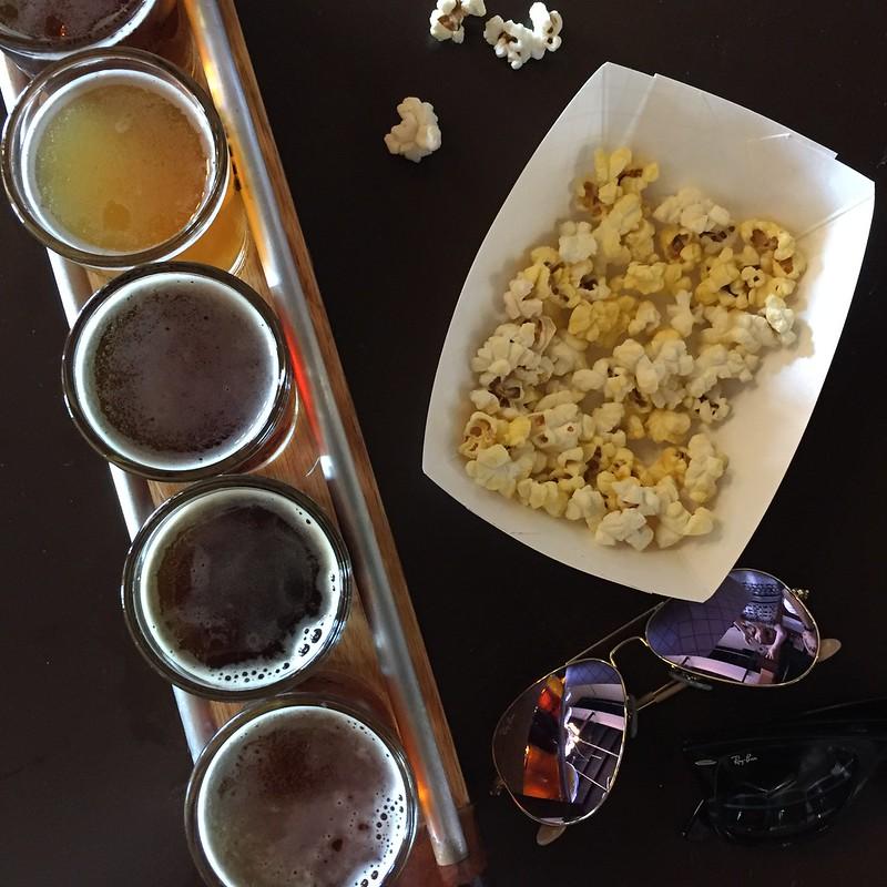 Maple Island beer sampler