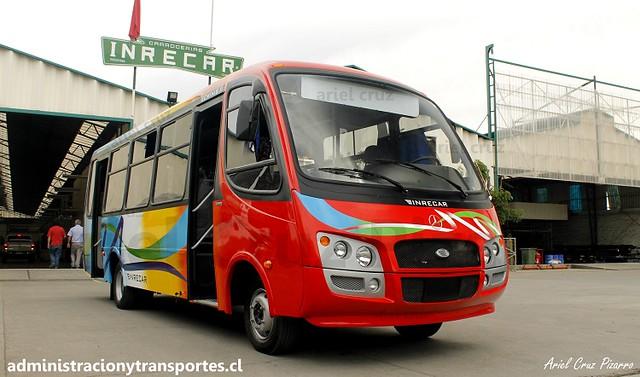 Transportes Ganosa (Tomé) | Inrecar S.A | Inrecar Géminis II - Mercedes Benz / GWZC89