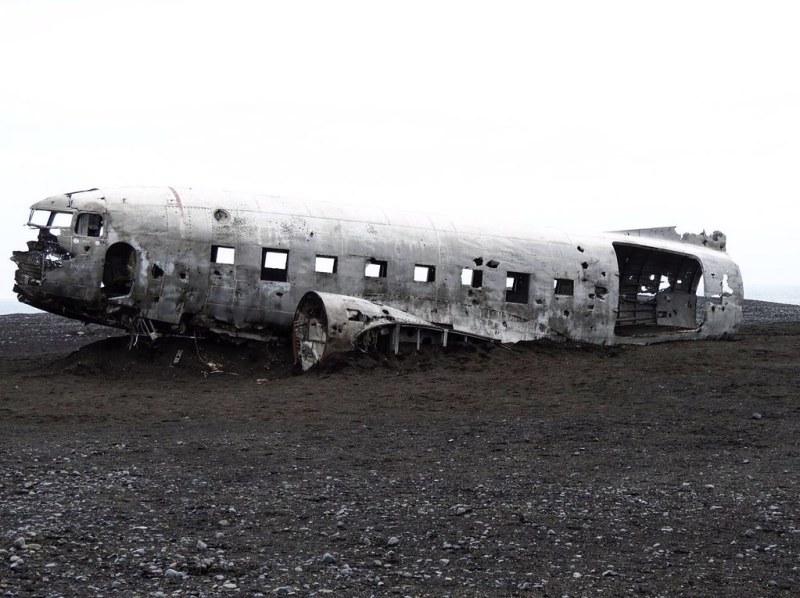 abandoned wreckage