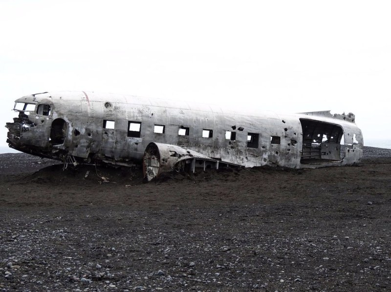 abandoned wreckage