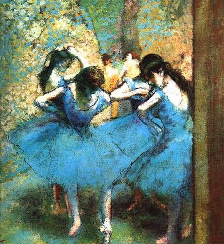 Błękitne Tancerki - ok1899