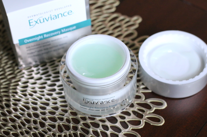Exuviance Overnight Recovery Masque, sleeping masks