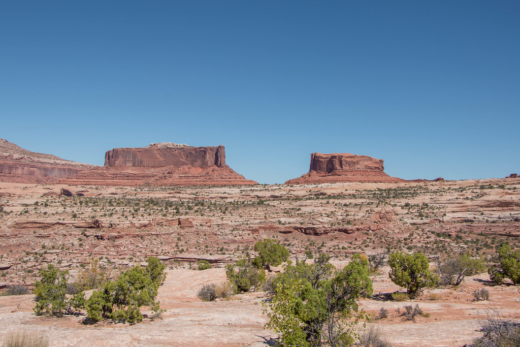 Merrimac and Monitor Buttes