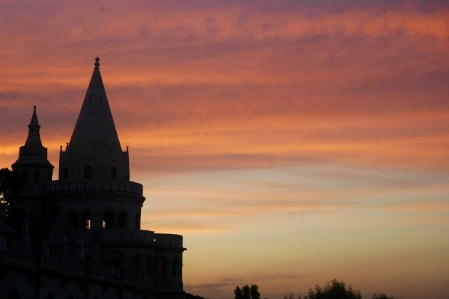 Sunset from Fisherman's Bastion