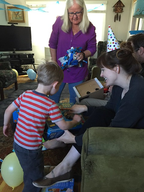 Sam's third birthday