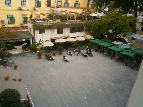 Vietnamese Women's Museum Courtyard