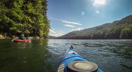 Lake Jocassee with Bennie Waddell-109