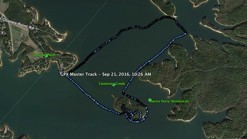 Harrisburg Plantation Paddle Route