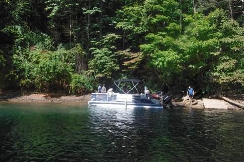 Lake Jocassee with Bennie Waddell-57