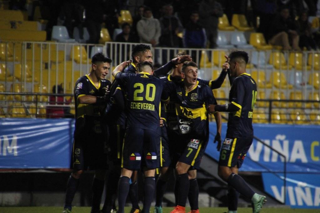 Everton 3-0 Unión San Felipe