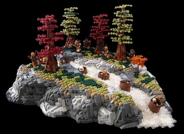 LEGO Hobbit Des barils pour les Nains