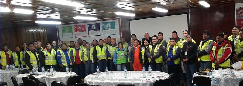 Todos los participantes de la reunión
