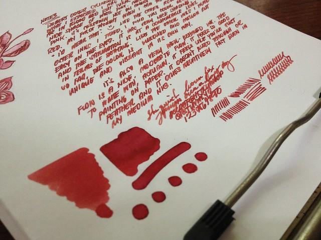 Robert Oster Crimson