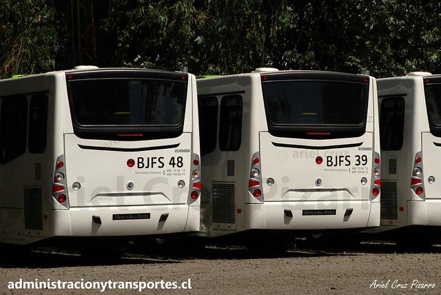 Transantiago | Buses Vule | Caio Mondego H - Mercedes Benz O500U / BJFS48 - BJFS39