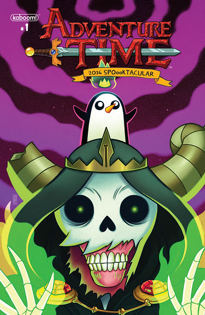 29800440935_2a05cf1330_z ComicList Preview: ADVENTURE TIME 2016 SPOOOKTACULAR #1