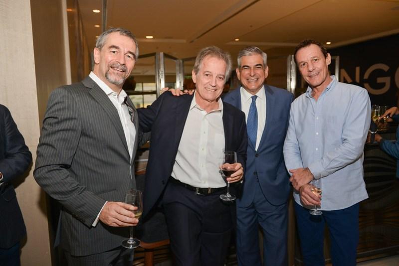 Hubert D'aboville, Max Kienle, Jaime Zobel de Ayala, Boris Eschmann