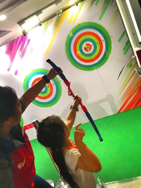 Kidzania archery