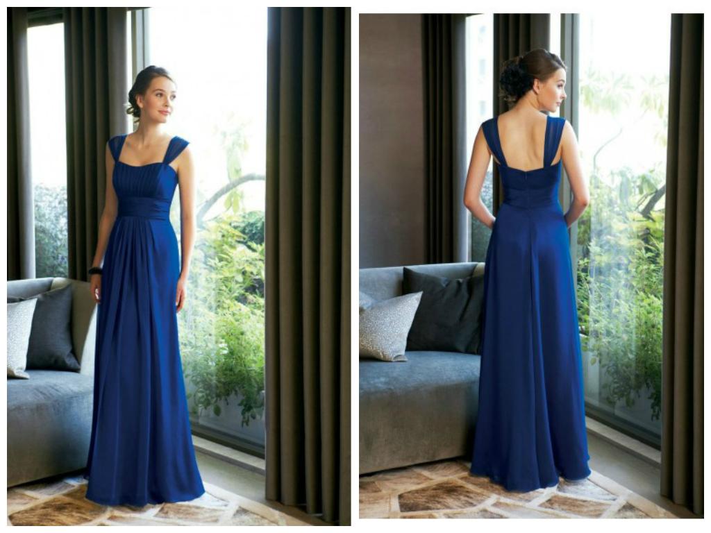 Custom Tailored Bridesmaid Dress