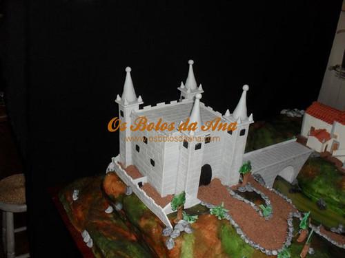Bolo de Noiva Castelo
