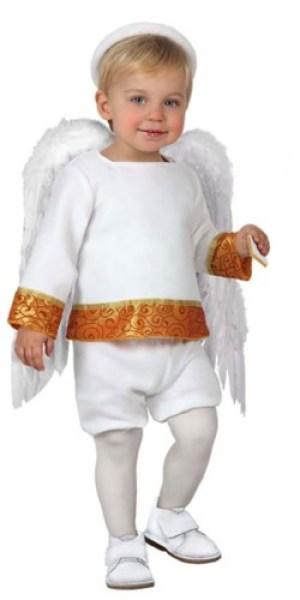 Fato Anjo Branco | A Casa do Carnaval