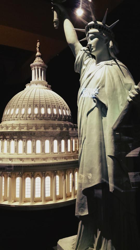 Casa Branca e Estátua da Liberdade
