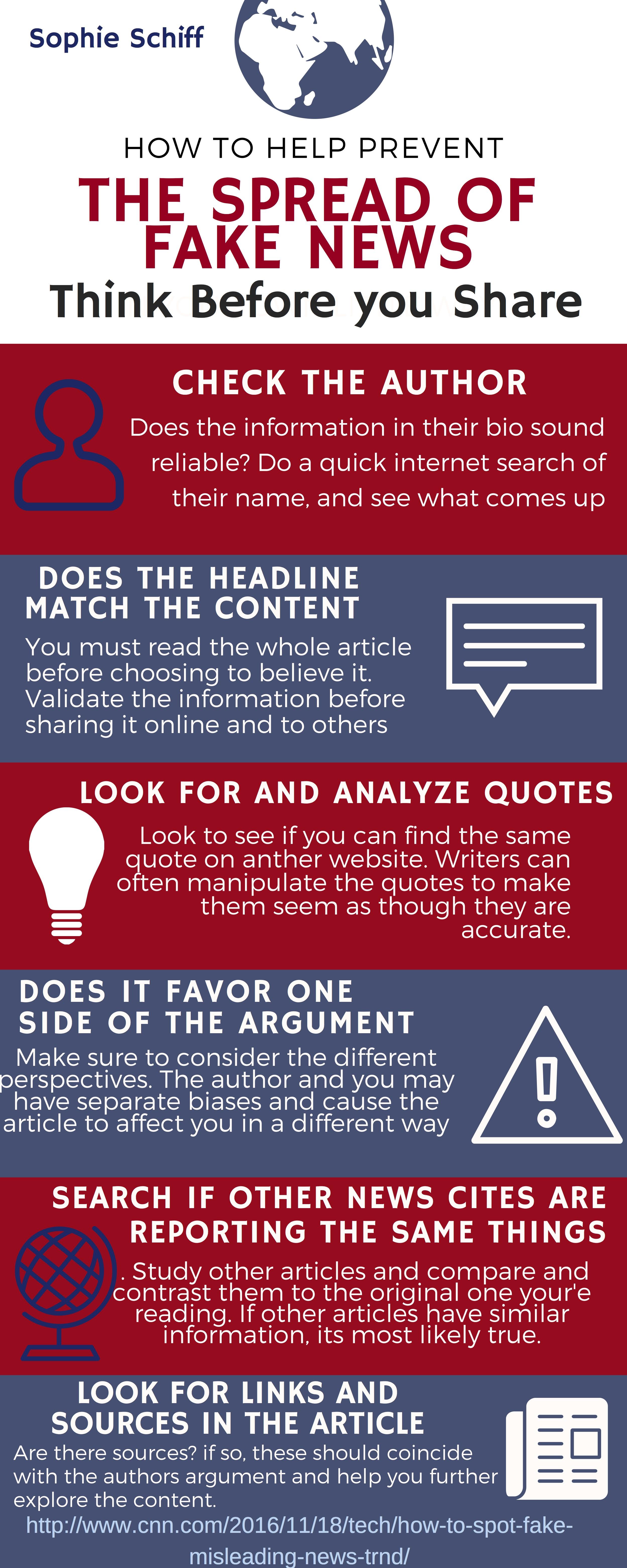 Fake News Infographics Columbus Academy