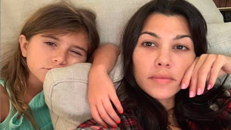 Kourtney Kardashian shares emotional video with children ...