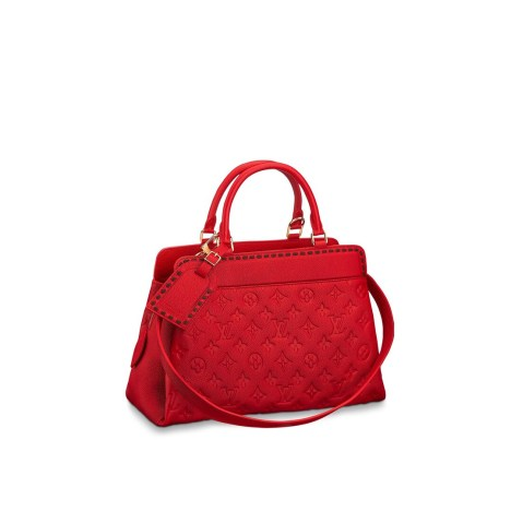 "cf8e5e1892b6 On the Louis Vuitton site this is what they say about the bag  ""The Vosges  bag presents a supple yet structured shape. Its refined design will enhance  every ..."