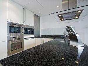 Encimera de cocina de granito negro sudafrica