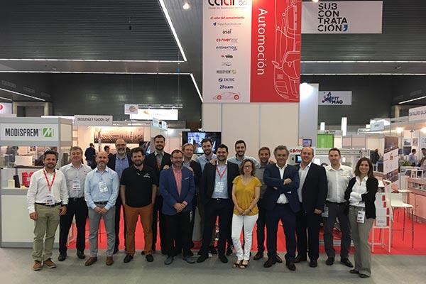El CAAR y AERA llevan conjuntamente a 13 empresas a la Feria Subcontratación 2019
