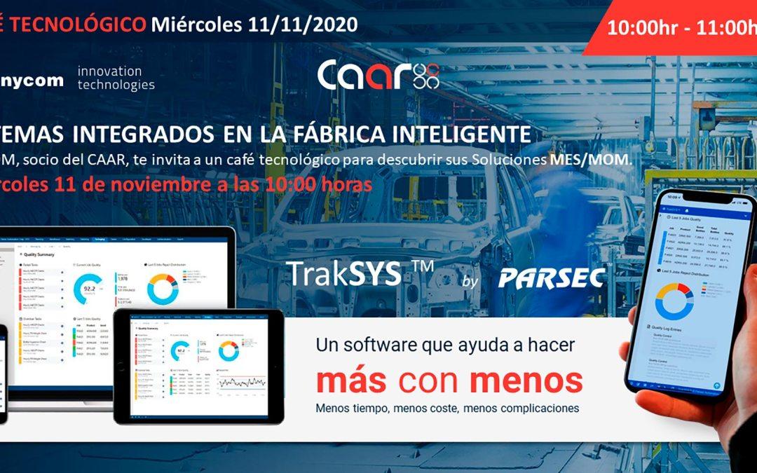 Café Tecnológico CAAR – Sistemas Integrados en la Fábrica Inteligente – convocatoria