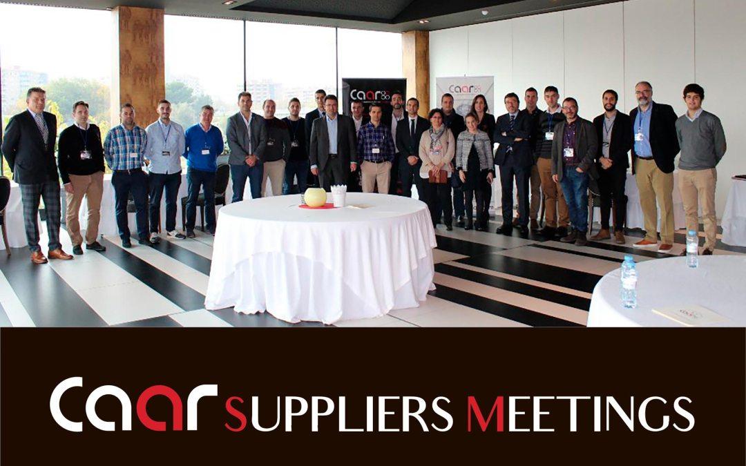 La segunda edición del CAAR SUPPLIERS MEETINGS, el 14 de noviembre