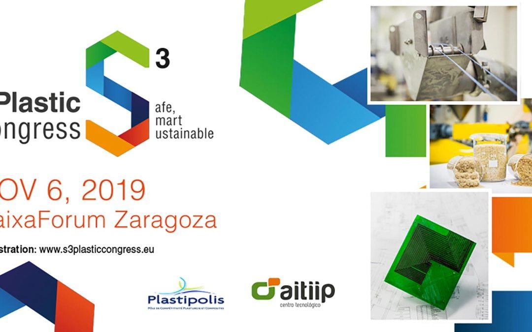 Aitiip, en colaboración con Plastipolis, organiza la segunda edición del congreso S3