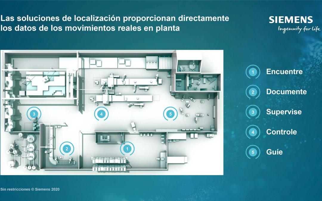 Café Tecnológico CAAR – Nuevas tecnologías de localización en planta y el Gemelo Digital. Del estado del arte a la planta de fabricación de Siemens para socios de CAAR
