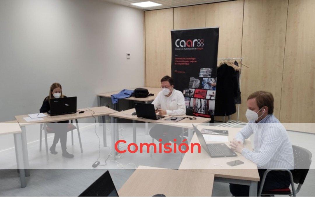 Comisión de Eficiencia Financiera del CAAR