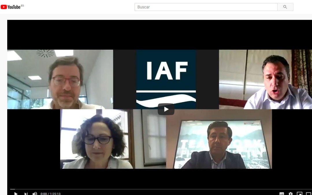 El CAAR, en los encuentros sectoriales que organiza el IAF dentro de la iniciativa +CERCA