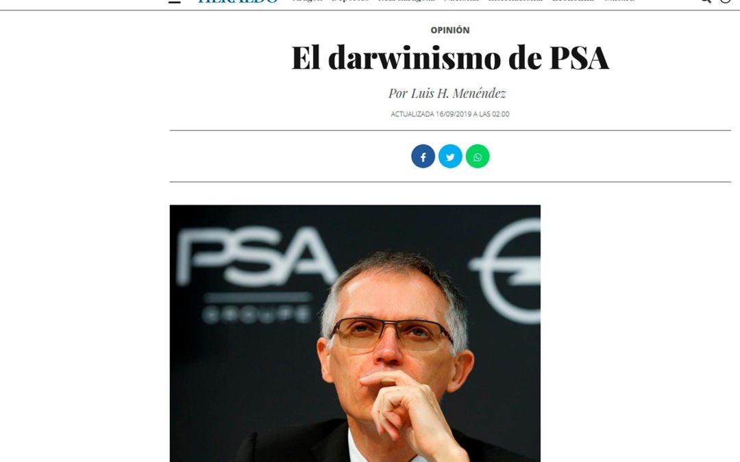 El darwinismo de PSA