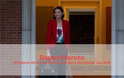 """Reyes Maroto: """"La automoción está liderando la transformación industrial de España"""""""
