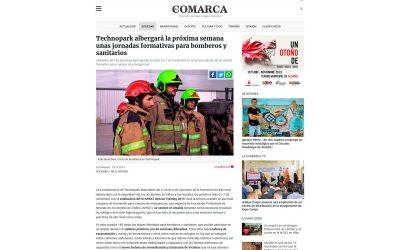 Technopark albergará la próxima semana unas jornadas formativas para bomberos y sanitarios