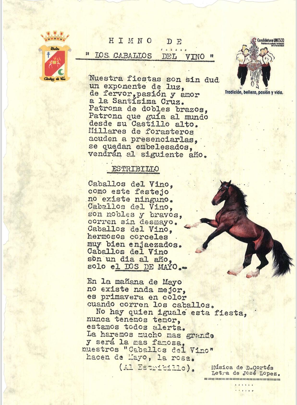 Himno de los Caballos del Vino