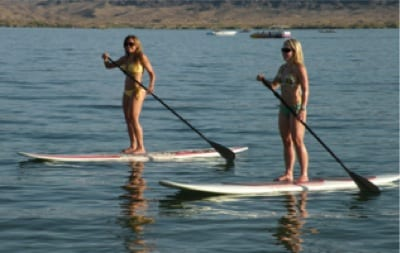 Paddle From your Cabana Boat !!