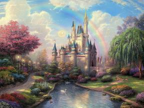 chateau contes de fées