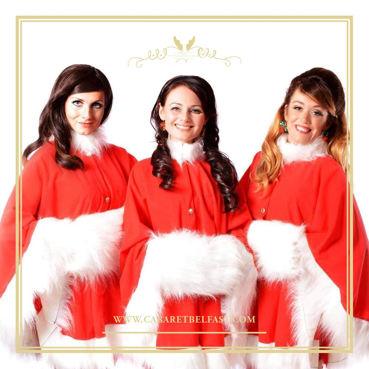Ronettes Christmas.Christmas With The Iconettes Main Course Meal Show 32 50 Cabaret Supper Club Belfast