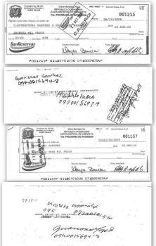 firmas diferentes de guarionex sanchez
