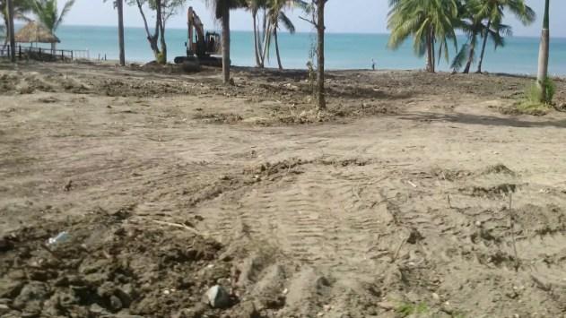 Hay que decir gracias a Pablo Jimenez segun el director provincial de medio ambiente para la limnpieza