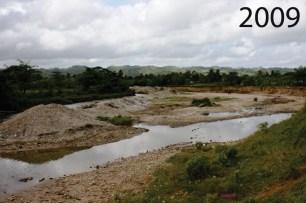 Primera limpieza del rio Veragua en 2009