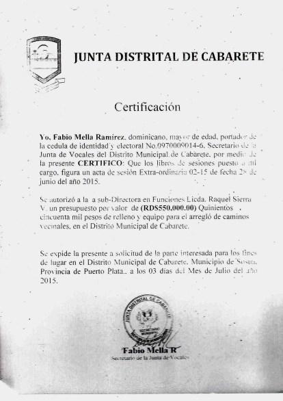 certificacion sesion