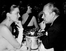 Julie with George Raft